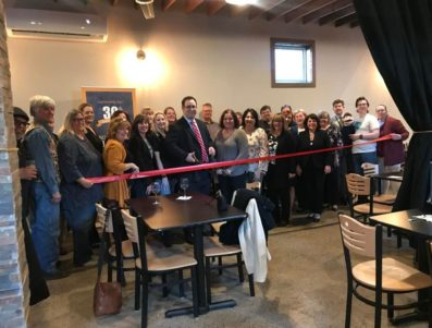 Northeast Berks Abstract Co Ribbon Cutting