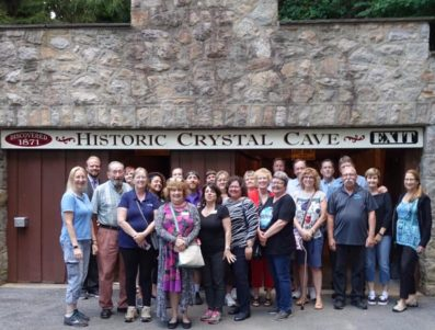 Networking & Tour of Historic Crystal Cave